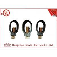 """Best 3/8"""" 1/2"""" Ground Rod Clamp Brass Electrical Wiring Accessories Customized wholesale"""