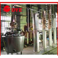 Best red copper commercial alembic distillation equipment wholesale