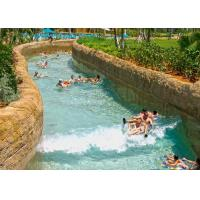 Best Giant Water Parks With A Lazy River Floating Water Sports 1m Depth 3-4m Width wholesale