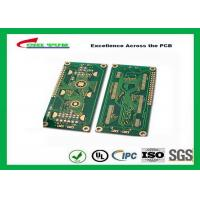 Best Hard Drive Bare Quick Turn Printed Circuit Boards With 2l Fr4 Material 0.8mm Flash Gold 1oz wholesale