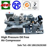Best High Pressure Oil Free Screw And Booster Air Compressor For PET wholesale