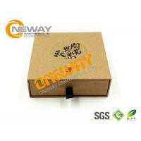 Best Matt Black Drawer Sliding Paper Box Packaging , Cardboard Drawer Storage Box wholesale