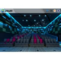 Cheap Multidimensional Entertainment 4D Movie Theater With Electronic Motion Seats for sale