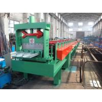 China Chain Drive Floor Deck Roll Forming Machine 8 - 20 M / Min Metal Forming Equipment on sale