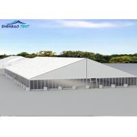 China Luxury Tent House With Glass Walls And Doors For International Conference on sale