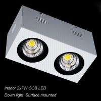 Best Interior IP40 surface mounted 14W COB LED downlight for home shopping mall wholesale