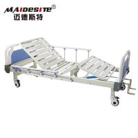 Best Two Cranks Back Lifting Manual Hospital Bed Adjustable With ISO / CE / FDA wholesale