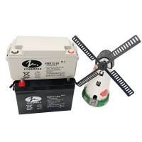 Buy cheap Sealed UPS Back-Up 12V Solar Deep Cycle Battery 90AH from wholesalers