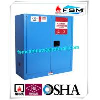 Flammable Corrosive Storage Cabinets , Chemical Safety Storage Cabinets For Acid Liquid