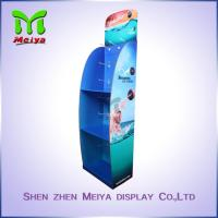 Best 3 Tiers Cardboard Floor Displays for swim wear , Cardboard Hook Display wholesale