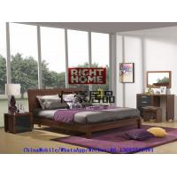 Best 2016 New Nordic Design Modern Bedroom Furniture King size bed with Mirror Dresser and Side table wholesale
