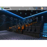 Best Customize 4D Cinema System Pneumatic / Hydraulic / Electric Motion Chairs With Movement wholesale