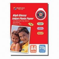 Best High Glossy Cast-coated Inkjet Photo Paper, Various Sizes and Gram Weights Available wholesale