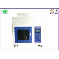 Best Plastic Horizontal And Vertical Flame Test Chamber Touch Screen IEC60950-11-10 wholesale