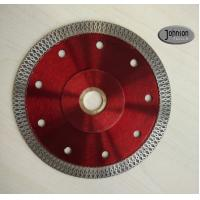 Best 125mm Sintered Ceramic Tile Saw Blades , Cyclone Mesh Turbo Diamond Blade wholesale
