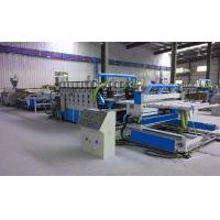 Best Fully Automatic Plastic Sheet Making Machine / PVC Foam Plate Making Machine wholesale