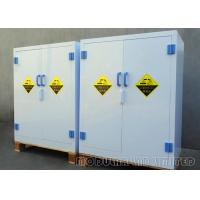 Best PP Board 90 Gallon Chemical Storage Cabinets All - Welded Interior For Laboratory Work wholesale