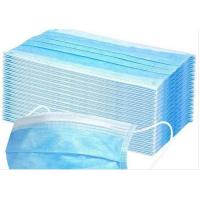 Best Anti Pollution Disposable Earloop Face Mask Non Irritating Moisture Proof wholesale