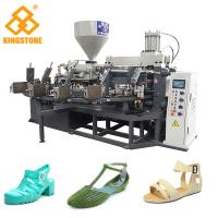 Best Vertical Screw PVC Foam Injection Molding Machine , Plastic Chappal Making Machine  wholesale