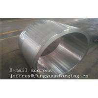 Best JIS EN ASME ASTM Hydraulic Cylinder Bushing Sleeve Forged C45 4130 4140 42CrMo4 4340 Rough Machined And UT wholesale