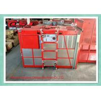 Quality Temporary Building Site Construction Elevator , Platform Passenger Material Hoist wholesale