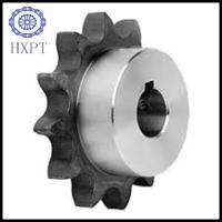 China FINISHED BORE ROLLER CHAIN SPROCKET, STEEL 40 TEETH 1 STRAND NO. 40 1/2″ PITCH ANSI CHAIN on sale