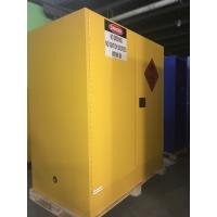 Best Steel Flammable Safety Cabinets With Self Latch Sliding Door For Gasoline / Pesticide wholesale