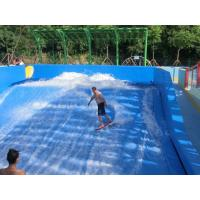 Best Water Park Surfing Skateboard Equipment Fiberglass Flowrider With Wave Surfing Machine wholesale
