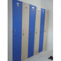 Best 1 Tier Bule Employee Storage Lockers PVC Material With Master Combination Padlock wholesale