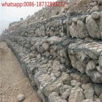 4mm wire diamerer 1*1*1m 2*1*1m 0.5*0.5m box size wall mounted basket wire cages rock retaining wall gabion baskets