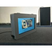 China 1500cd/m2 Brightness Outdoor LCD Digital Signage Display Monitor Touch Screen Kiosk on sale