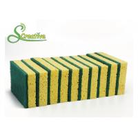 Best Non Scratch Cellulose Kitchen Sponge For Household Cleaning Eco Friendly Anti Microbial wholesale