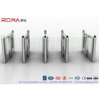 Cheap Stylish Optical Speed Gate Turnstile Bi - Directional Pedestrian Queuing Systems Entry Barriers for sale