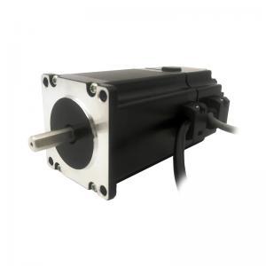 China NEMA23 size 57mm Stepper motors with permanent magnet brake motor torque 2.3N.m(329oz-in) shaft 6.35/8.0mm 4A on sale