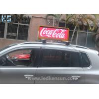 Best 3G P5 P6 Taxi Roof LED Display / Taxi Top Sign For Dynamic Advertising 1/8scan 21kg/PCS wholesale
