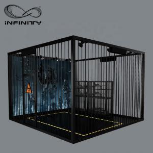 Best Black Color VR Gaming Platform 9D VR Simulator Four People 12 Month Warranty wholesale
