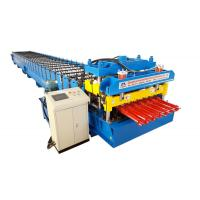 Best Color Steel Metal Glazed Tile Tile Roll Forming Machine For Outdoor Decorate wholesale