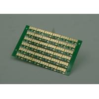 Best Golden Finish Single Sided PCB FR4 Green Soldermasking 1oz Copper wholesale