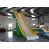Best Narrow Tarpaulin Blow Up Water Slide , Large Inflatable Water Slides CE Certificated wholesale