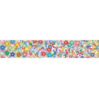 Best 2x12.25 Inches Rulers 3D Lenticular Printing Service With Multicolored Spinning Wheels wholesale