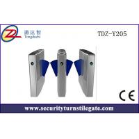 Best RS485 TCP / IP Electronic Turnstile Flap Barrier Gate with access control wholesale