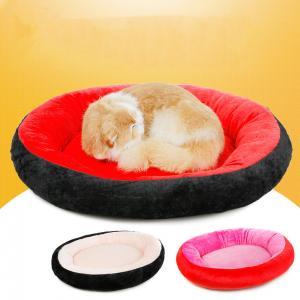 China 50~70cm Washable Luxury Soft Cotton Dog Beds Colorful Portable Sofa on sale