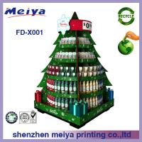 Best Christmas Festival Decoartive Cardboard Display Stands For Gifts wholesale