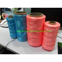 Cheap 3000D - 5000D Denier Packing Poly Twine Rope  Untwist Fibrillated Type for sale