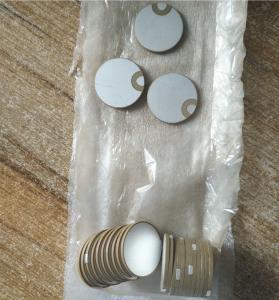Buy cheap Customized Piezo Ceramic Element Piezoelectric Ceramic Material from wholesalers