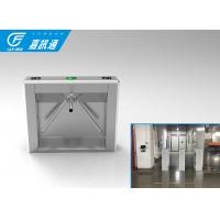 Best 110V Autoamtic Card Reader Tripod Access System , Airports Stainless Steel Turnstiles wholesale