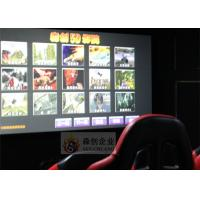 Best Attraction 5D Movie Theater Large Screen , 5.1 Channel Audio System wholesale