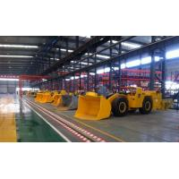 Best 4 M³ Underground Mining Loader , Mining Front End Loader Three - Point Suspension wholesale