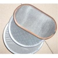 Best Stainless Steel Silver Wire Mesh Water Filter Single / Multiple Layers Width Customized wholesale