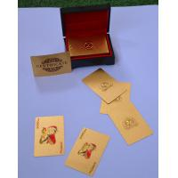 Best DOUBLE sides 24K Pure Custom Playing Cards Add your logo on the Card wholesale